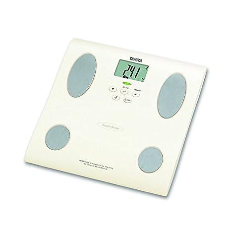 Tanita BC-581 Báscula personal electrónica Color blanco - Báscula de baño (Color blanco