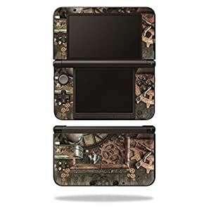 MightySkins Skin Compatible with Nintendo 3DS XL – Steam Punk Room | Protective, Durable, and Unique Vinyl Decal wrap…