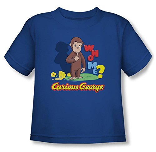 Toddler: Curious George - Who Me T-Shirt Size 3T