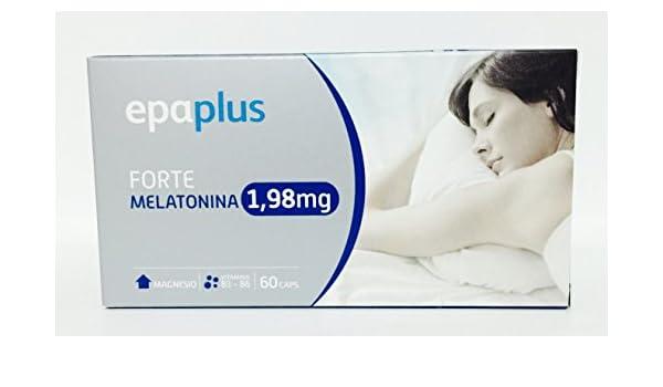 PEROX FARMA - Epaplus Melatonina Forte 1,98 Mg: Amazon.es: Salud y cuidado personal