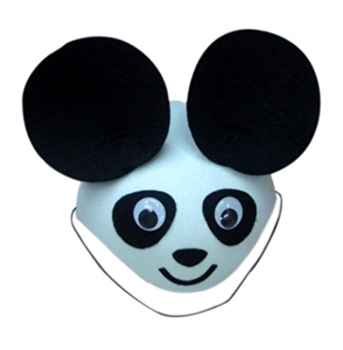 Funny Adult Kids Birthday Party Hats Dress Up Evening Cosplay (panda hat)