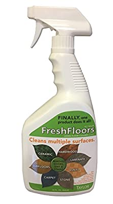 WF Taylor FFS-32 32 oz. Taylor Fresh Floors Multi Purpose Floor Cleaner