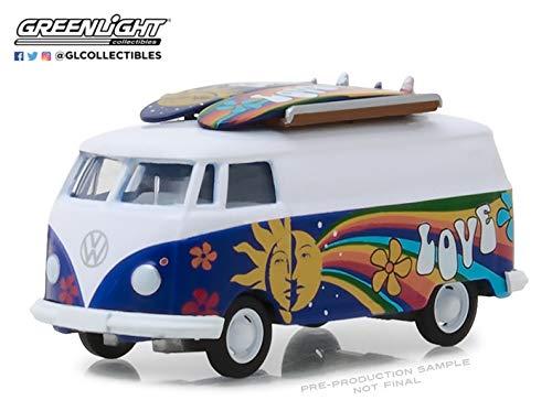 (1971 Volkswagen Type 2 Panel Van with Surfboards