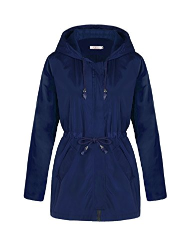 waterproof hooded jacket - 4