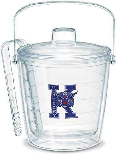 Bucket Wildcats (Tervis 1053398 Kentucky Wildcats College Vault Logo Ice Bucket with Emblem and Clear Lid 87oz Ice Bucket, Clear)