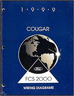1999 Mercury Cougar Wiring Diagram Manual Original Mercury Amazon