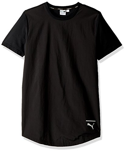 PUMA Men's EVO Long T-Shirt, Black, M