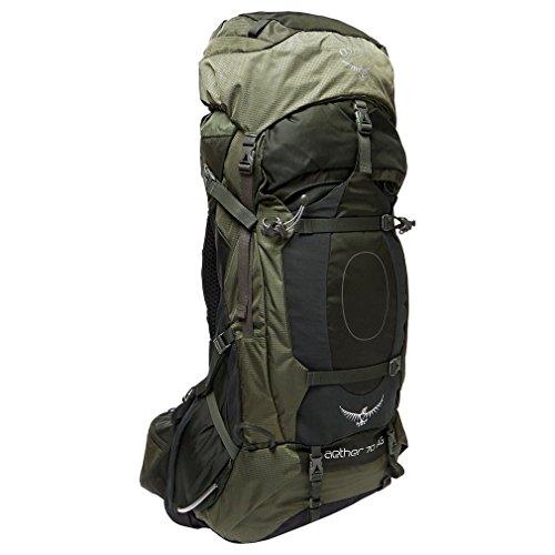 Osprey Aether AG 70 Hiking Backpack Large Adirondack Green