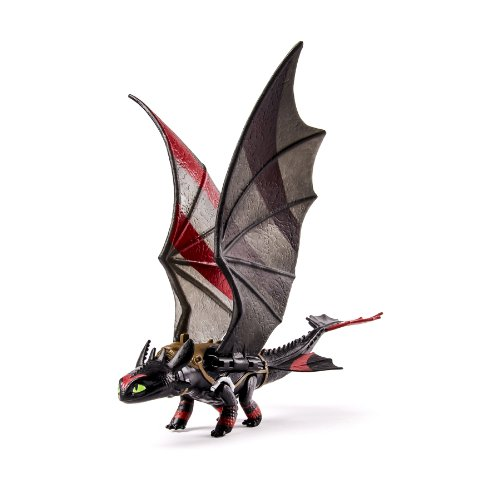 DreamWorks Dragons, How to Train Your Dragon 2 Toothless Power Dragon (Extreme Wing Flap (Action Flaps)