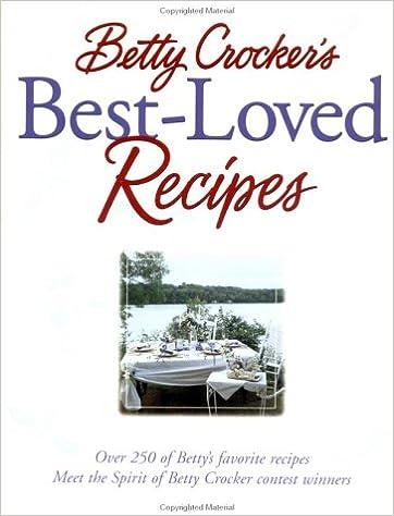 Download ebook gratis det Betty Crocker'S Best Loved Recipes PDF