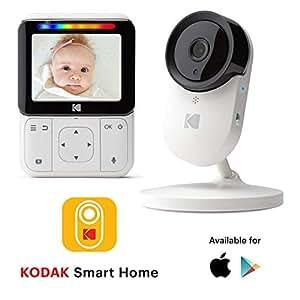 Amazon.com : KODAK Cherish C220 Video Baby Monitor - 2.8