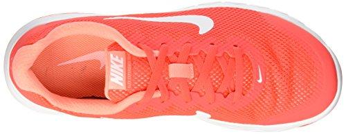 Nike Wmns Mujer whi Flex Crmsn Experience Naranja atmc Running de Pnk RN 4 Zapatillas Brght para White rrdfgzq