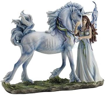 Unicorn Studios WU76868AA Long Live Magic Fairy Unicorn Figurine