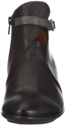 Think Aha 7-87194-00 - Botas de cuero para mujer Negro (Schwarz/Schwarz)