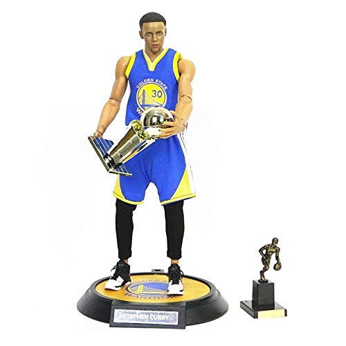 (FidgetKute Action Figure NBA Collection Stephen Curry 1/6 Scale Real Masterpiece Toy Gift)