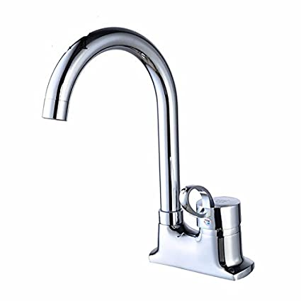 Amazon.com: Dayanand Sink Faucet Waterfall Spout Bathroom Sink ...