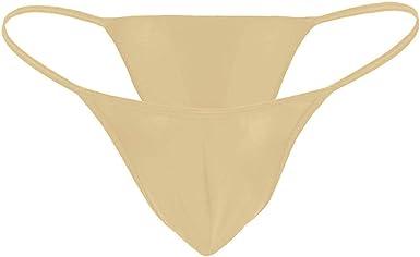 Bugle Pouch Mens Thongs Underwear Lingerie Stretch G-string Bikini Tanga Briefs