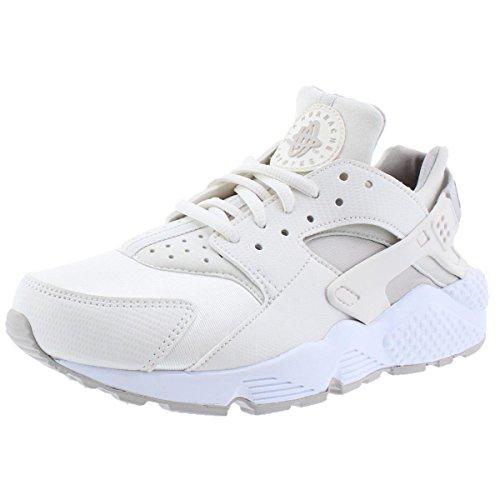 Nike Womens air Huarache Run Trainers 634835 Sneakers Shoes (US 6, phontom Light Iron ore White 018) (Nike 2014 Run Flex Shoes)