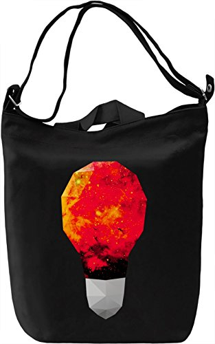 Galaxy Bulb Borsa Giornaliera Canvas Canvas Day Bag| 100% Premium Cotton Canvas| DTG Printing|