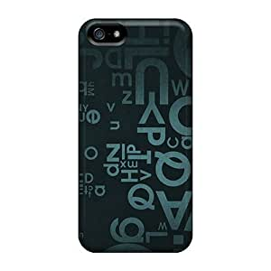 Personality customization Faddish Letters English Case Cover For Iphone 5/5s By CUY Cases