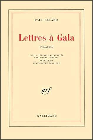 Livres Lettres à Gala, 1924-1948 pdf