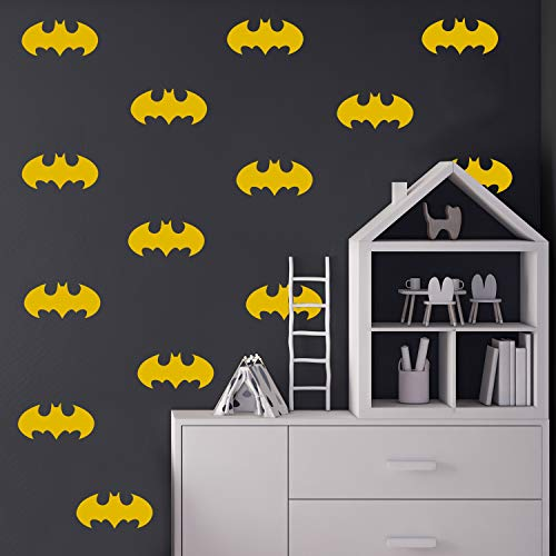 Set of 20 Vinyl Wall Art Decal - Batman - 3