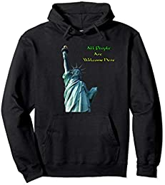 Liberty Statue Pullover Hoodie