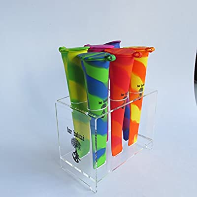 bar habitué-Silicone Pop Set and Plastic Stand