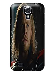 Colorful hybrid tpu skin cover case with cartoon for Samsung Galaxy s4 of Chris Hemsworth Thor in Fashion E-Mall