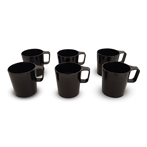 Coza Design- Eco Friendly Plastic Stackable Mug Set