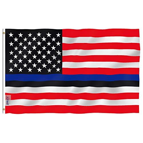 Anley Fly Breeze 3x5 Foot Blue Lives Matter American USA Pol