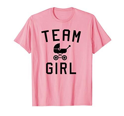 (Team Girl Shower Adoption Gender Reveal Party Pink Shirt)