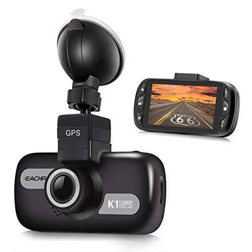 EACHPAI K1 GPS Car Dash Cam