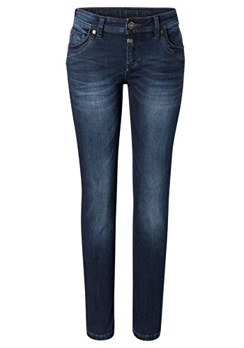 Royal Super Dark Blu Straight Timezone 3012 Slim Stretch Donna Jeans Tahila Wash zAEEwqZ8p