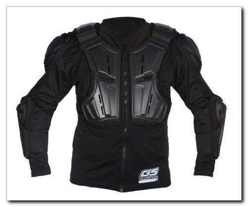 Evs Body Armor - EVS G6 Lite Ballistic Jersey (LARGE) (BLACK)