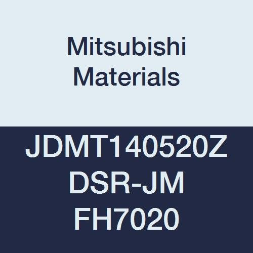 Mitsubishi JOMW080320ZZSR-FT MP6130 Carbide Milling Insert Class M Chamfer and Round Honing 0.125 Thick 0.079 Corner Radius Grade MP6130 Coated 0.315 Inscribed Circle Case of 10