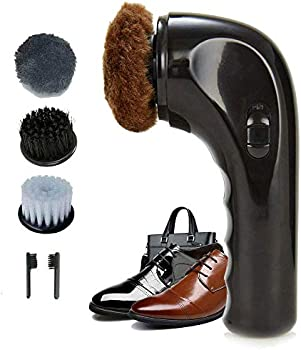 Hitti Electric Portable Wireless Shoe Shine Leather Care Kit