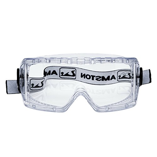 AMSTON Safety Goggles - Meets OSHA / ANSI Z87.1 Standards - Personal Protective Equipment / PPE for Construction, DIY, Lab & Home Projects