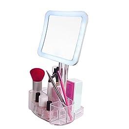 daisi Magnifying Lighted Makeup Mirror | 7X Magnif...