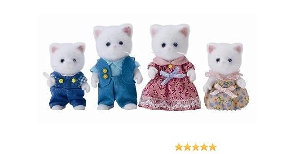 Flair 4472 Sylvanian Families - Familia de gatitos persas (importado de Reino Unido, 4 figuras): Amazon.es: Juguetes y juegos