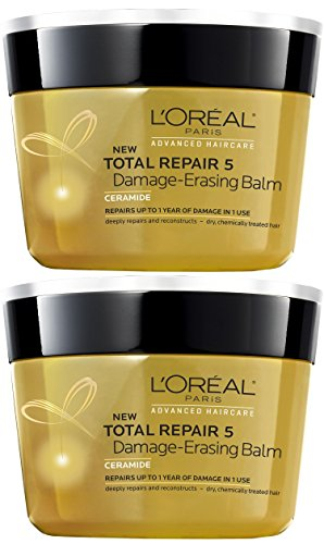 L 'Oreal Paris Advanced Haircare Total Repair 5 Damage-Erasing Balm (Pack of 2)