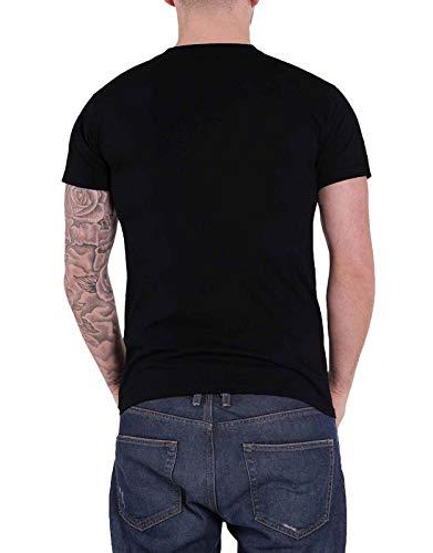 uomo Nuovo Band Shirt nero di T ufficiale me Punk Logo Contro Cowboy wvZgq