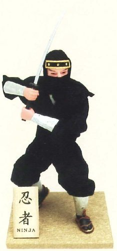 Authentic Japanese Samurai Figure Dolls: Ninja !!