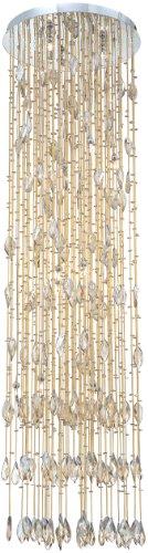 (Eurofase 20350-031 Vega 15-Light Pendant, Amber)