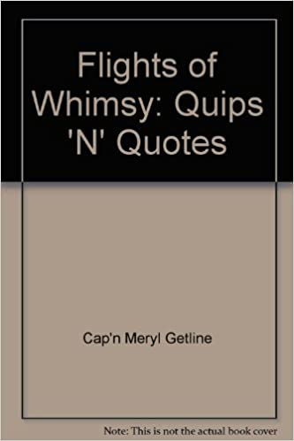 Flights Of Whimsy Quips 'N' Quotes 60 Amazon Books Impressive Quips N Quotes