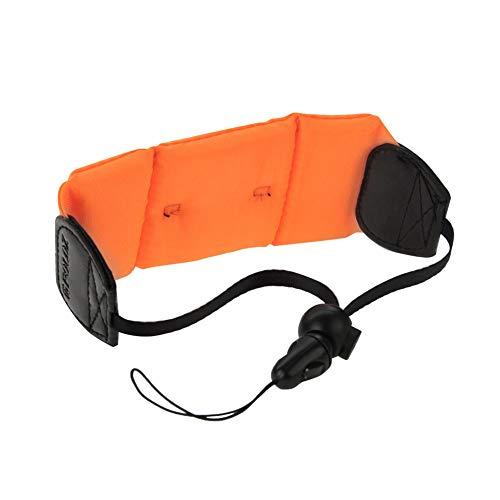 DierCosy Floating Camera Wrist Strap Waterproof Camera Float Wristband Essential Underwater Hand Grip Lanyard for Cameras(Orange)