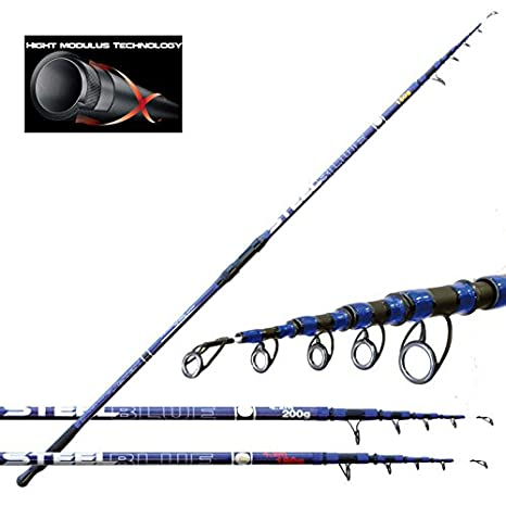 Fishing Ferrari 2269218 Canna Pesca Surfcasting Mare Blue Steel d8f4078df343