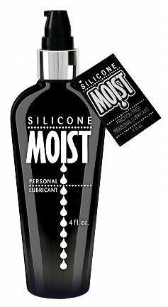 Siam Circus Moist Personal Lube Lubricant NON Irritating Silicone Based 4oz Bottle by Siam Circus (Moist Lubricant)