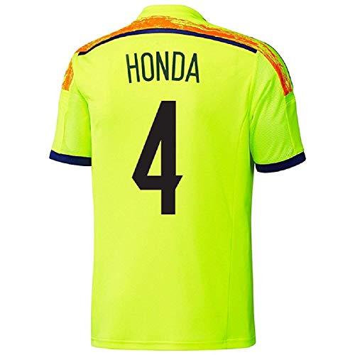適合するごみありそうADIDAS HONDA # 4 JAPAN AWAY JERSEY WORLD CUP 2014/サッカーユニフォーム 日本 アウェイ用 ワールドカップ2014 背番号4 本田