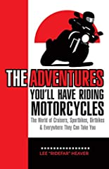 Your life is an adventure, RIDE IT! The great thing about motorcycles is it demands our attention and respect. We live in a very connected world and sometimes the only way to disconnect is to connect to your motorcycle. Whatever is going on i...